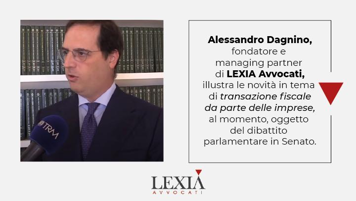 transazione fiscale Alessandro Dagnino