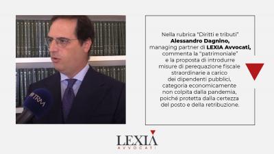 patrimoniale, il commentro dell'avvocato tributarista Alessandro Dagnino