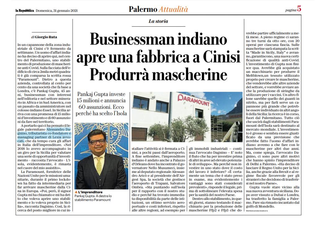 Italia Paramount Sr