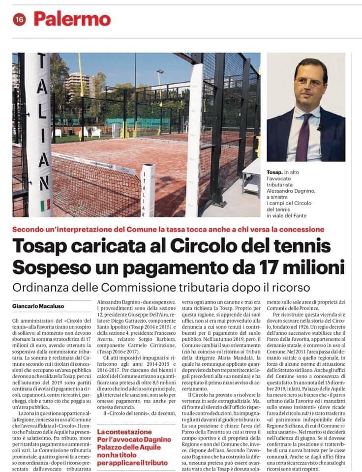 circolo del tennis di Palermo