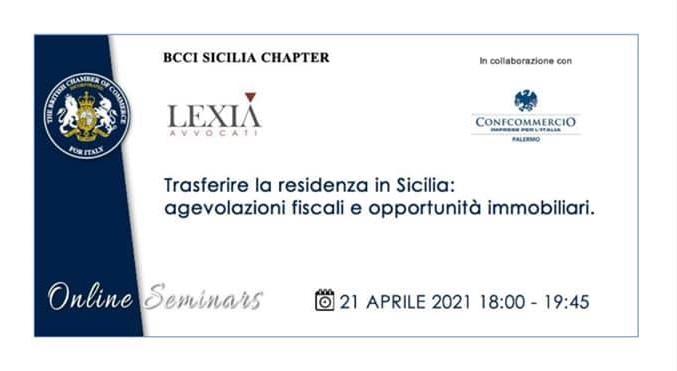 Trasferire la residenza in Sicilia: