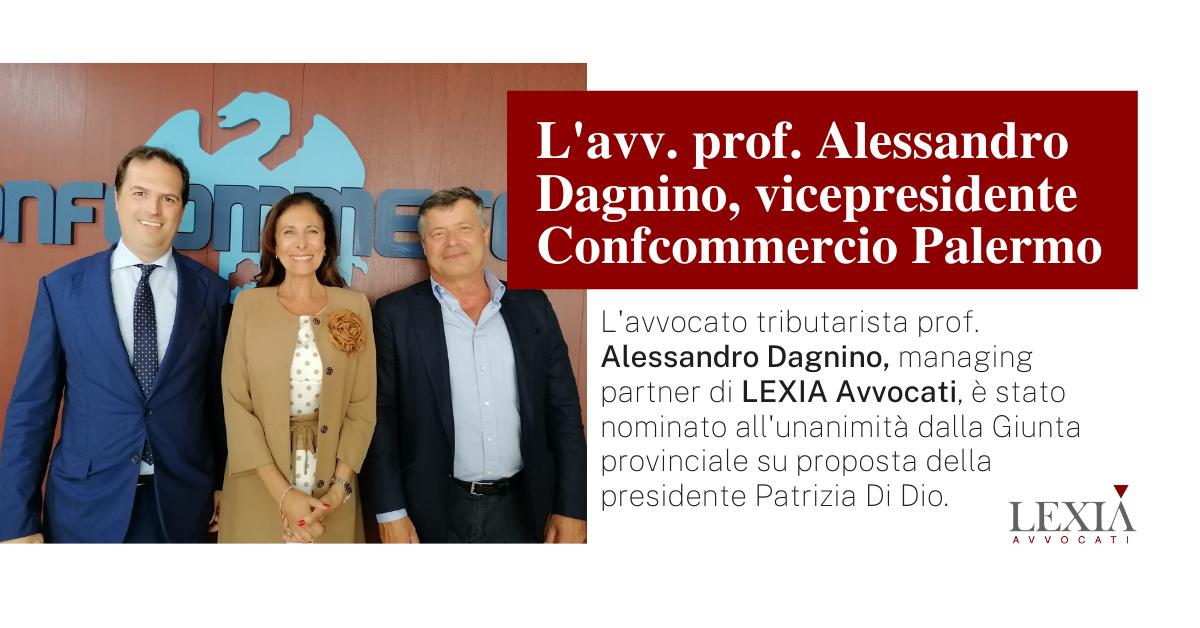 Alessandro Dagnino, vicepresidente Confcommercio Palermo