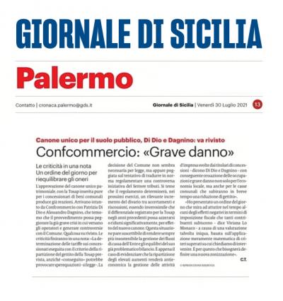 Canone unico a Palermo